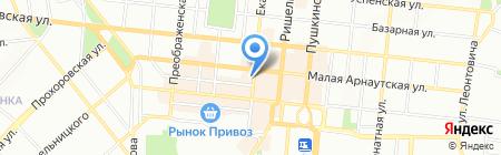 Стол и Стул на карте Одессы