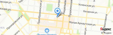 Аптека 111 на карте Одессы