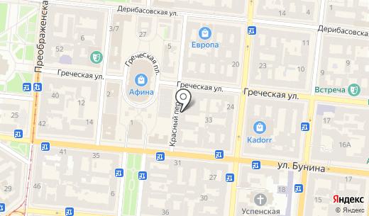 SigoMarineTour. Схема проезда в Одессе