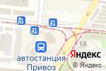 Схема проезда до компании Фотокопицентр в Одессе