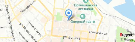 Книжный Супермаркет на карте Одессы