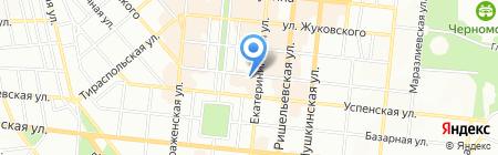Нотариус Писаренко Е.С. на карте Одессы