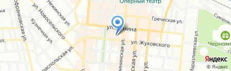 Тартус-Тур на карте Одессы