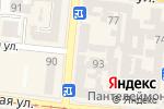 Схема проезда до компании КнигоЛенд в Одессе
