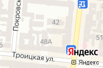 Схема проезда до компании Estetic Medical в Одессе