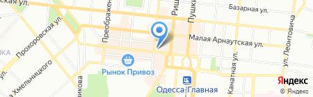 Дешево на карте Одессы