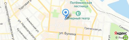 SELFIE на карте Одессы