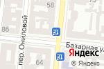 Схема проезда до компании Yves Delorme в Одессе