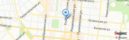 REHAU на карте Одессы