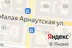 Схема проезда до компании Христианская книга в Одессе