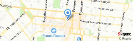 Пора в отпуск на карте Одессы