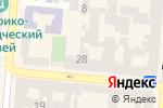 Схема проезда до компании Альфабета в Одессе