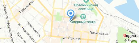 Аптека Гаевского на карте Одессы