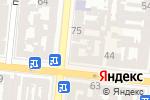 Схема проезда до компании Скайлайн Электроникс в Одессе