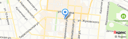 Пятачок на карте Одессы