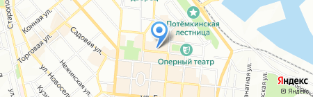 Desire на карте Одессы