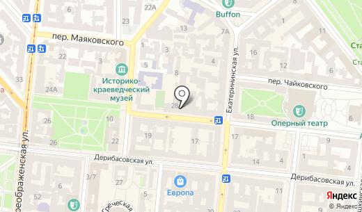Desire. Схема проезда в Одессе