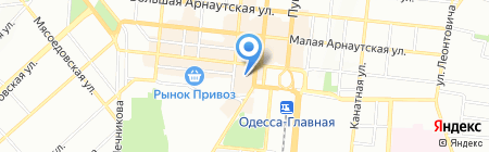 Vistline на карте Одессы