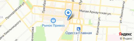 Megaзин на карте Одессы
