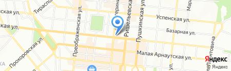 Скайлайн Электроникс на карте Одессы