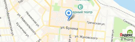 Банк Михайлівський на карте Одессы