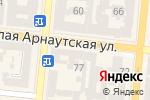 Схема проезда до компании Блокнотик в Одессе