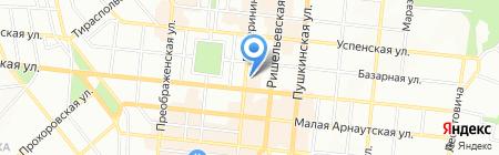 Банк інвестицій та заощаджень на карте Одессы