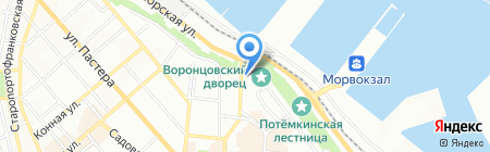 Малва на карте Одессы