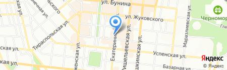 Кэтрин на карте Одессы