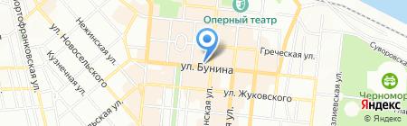 Dali на карте Одессы