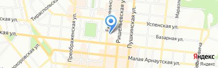 Декораторъ на карте Одессы