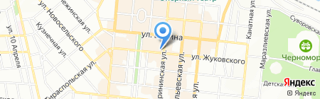 Виражевский на карте Одессы
