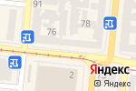 Схема проезда до компании Білизна в Одессе