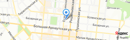 Скай Марин на карте Одессы
