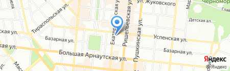 La Rose на карте Одессы