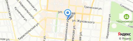 ВлаДи на карте Одессы