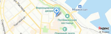 Детский сад-ясли №29 на карте Одессы