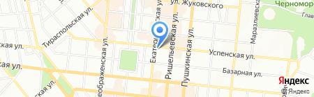 Юрен ПО на карте Одессы
