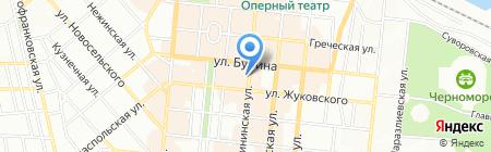 Буфетъ на карте Одессы