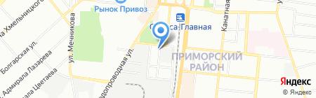 Детский сад-ясли №58 на карте Одессы