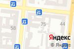 Схема проезда до компании Марат в Одессе