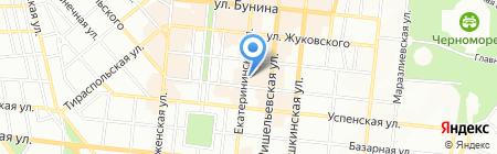 L`image на карте Одессы
