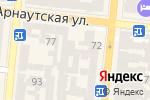 Схема проезда до компании Профессионал в Одессе