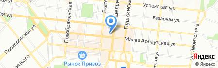 Национальное риэлторское бюро на карте Одессы