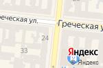 Схема проезда до компании La Banque в Одессе