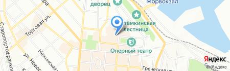 Югцемент ПАО на карте Одессы