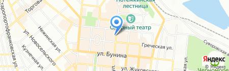 Motivi на карте Одессы