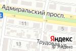 Схема проезда до компании Всеукраинский священный союз славянских народов в Одессе