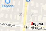 Схема проезда до компании Tommy Hilfiger Denim в Одессе