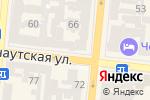 Схема проезда до компании TopTeh в Одессе